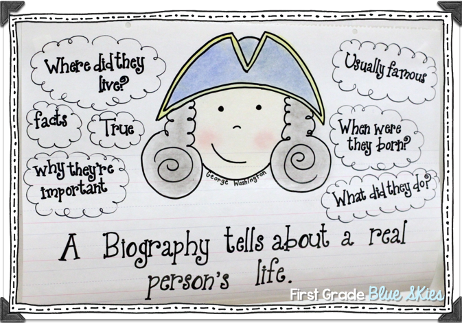 simple biographies for students