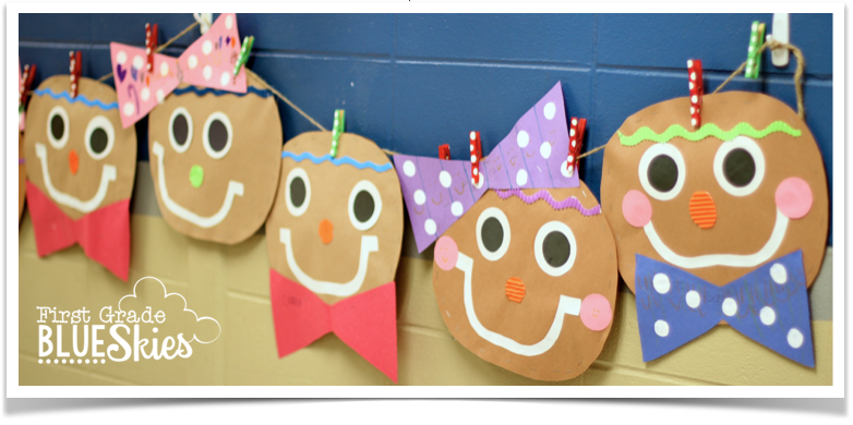 Gingerbread Man Craft Close Read And Writing