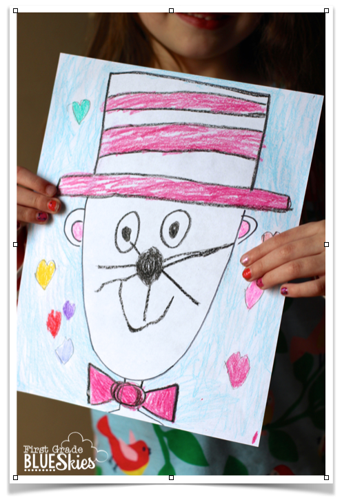 Cat In The Hat Directed Drawings