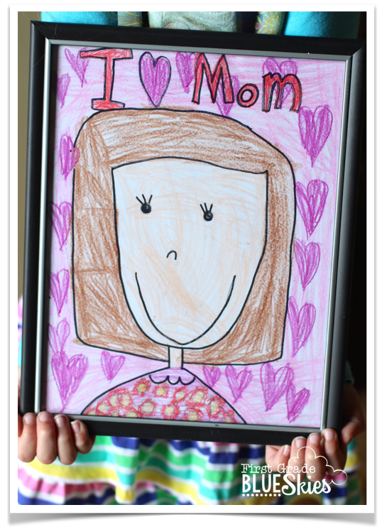 Mother S Day Activities And Ideas First Grade Blue Skies