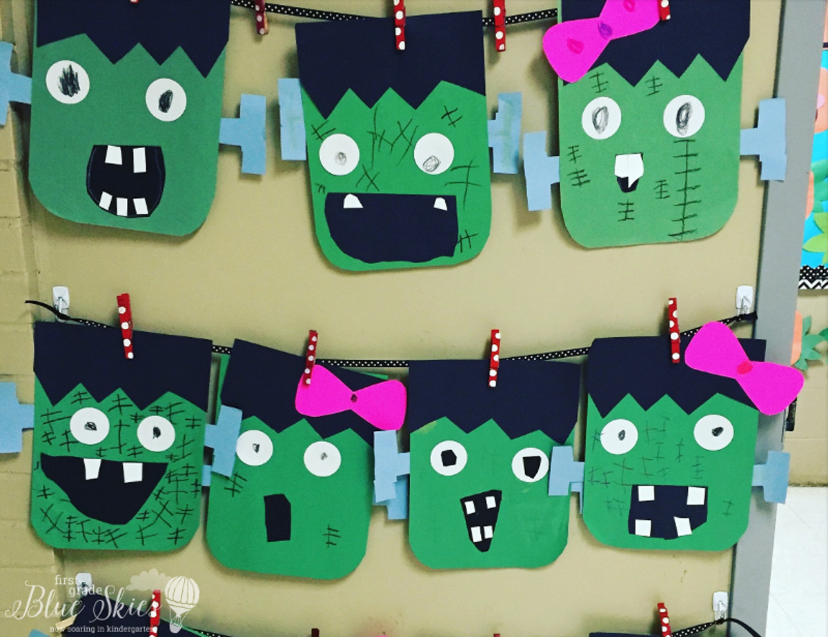 First Grade Halloween Craft Ideas