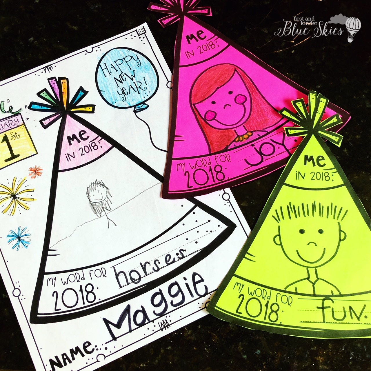 Happy New Year Writing Activities FREEBIE - First Grade ...