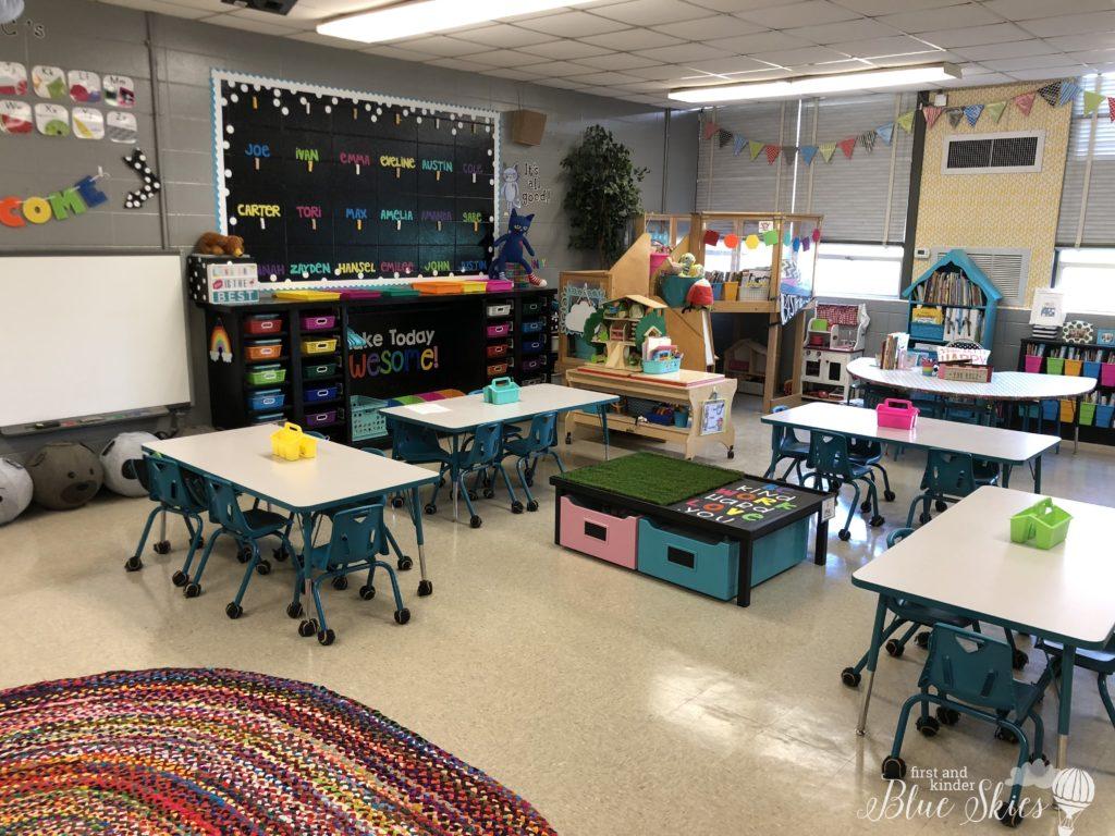 Classroom Tour 2018 19 First Grade Blue Skies